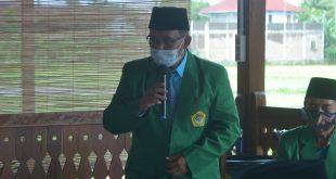 Ketua DPD LDII Kulon Progo Memberikan Sambutannya