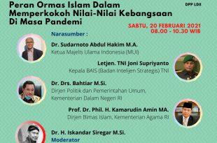Poster Webinar Kebangsaan DPP LDII